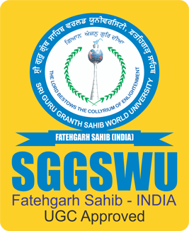 SGGSWU - Sri Guru Granth Sahib World University Logo